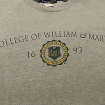 College of William & Mary T-Shirt Adult Large Very Nice Gray Photo