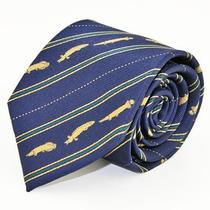Colorata Endangered Species Fossil Fish Coelacanth Tie New Best Buy x'mas Gift Photo
