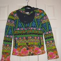 Colorful and Fun Anthropologie Sweater Size Xs Photo