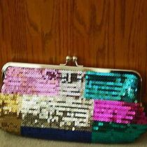 Colorful Sequin Evening Clutch Photo