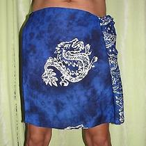 Colorful Tropical Mens Sarongs - Shorter and Long Enough to Wrap Around and Tie Photo