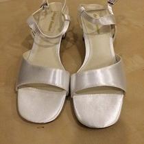 Colorfull Creations Wedding Shoes White Satin Size 10ee - Lulu Photo