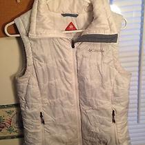 Columbi Omni Heat Womens Large White Vest Photo