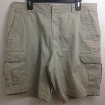 Columbia 100% Cotton Cargo Shorts Hunting Camping Climbing Biking Mens Sz 38w  Photo