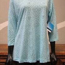 Columbia Baby Powder Blue Floral Print Whispering Wind Hoodie - New Photo