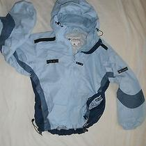 Columbia Basic Jacket Size M Blue Solid Photo
