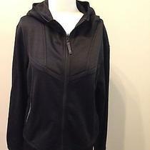 Columbia Black Interchange Softshell Jacket Full Zip Hooded Xl Excellent  Photo