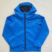 Columbia Blue Lightweight Jacket  Unisex  Size Xs(6-7) Photo