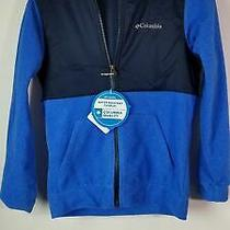 Columbia Blue Zip Up Hoodie Sz M Youths' Nwt Photo