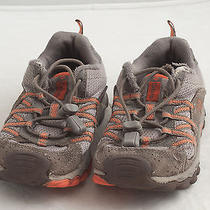 Columbia Boy's Daybreaker Shoes 12 Toddler Orange Athletic Sneakers Photo