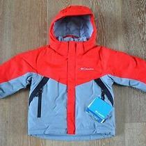 Columbia Boys Glacier Slope Ski Jacket Size 4/5 Nwt Photo