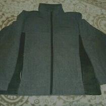 Columbia Boys Kids Full-Zip Warm Fleece Jacket  Gray Size  10/12 Photo