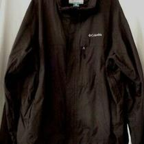 Columbia Brown Omni-Tech Waterproof Interchange Jacket Mens Size Xxl   Photo