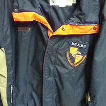 Columbia Chicago Bears Mens Winter Coat / Jacket Large L Radial Sleeve Nfl Photo