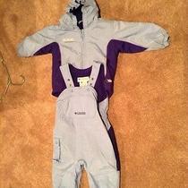Columbia Children's Snow Suit Blue  Photo