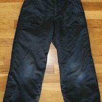 Columbia Convert Board Wear Snow Pants Black Ski Snowboarding Youth Size 8 Photo