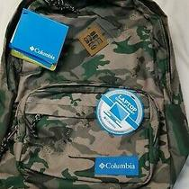 Columbia Cottonwood Camouflage Day Pack Backpack Laptop Bag Omni-Shield  Photo