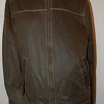 Columbia Distressed Brown Active Outdoor Jacket Sz M Photo