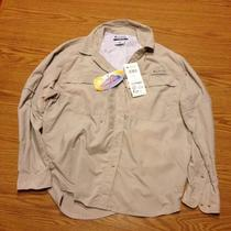 Columbia Eddyline Long Sleeve Women's Shirt Fossil Photo