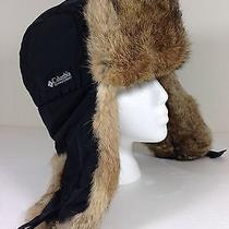 Columbia Faux Fur Ear Flaps Winter Hat Size Large Unisex Photo
