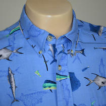Columbia Fishing Casual Cotton Shirt Sz M Photo