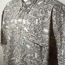 Columbia Fishing Shirt Xl Great Condition 100% Cotton Awesome Design Photo