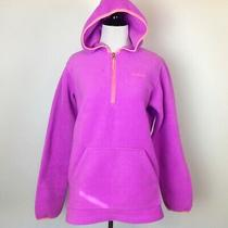 Columbia Fleece Hoodie Jacket Zip Womens Xl Pink  Photo