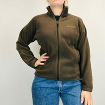 Columbia Fleece Jacket Women's Brown Small Full Zip Photo
