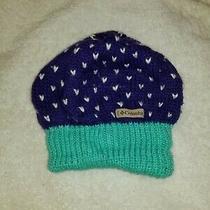 Columbia Fleece Lined Girls Purple Hat Photo