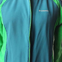 Columbia  Fleece-Softshell New Without Tag Plus 1x Bright Green-Teal Jacket Photo