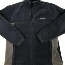 Columbia Full Zip Fleece Jacket Mens Size Xl (22 X 26in) Photo