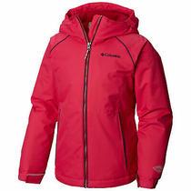 Columbia Girl's Jacket Cactus Pink Size Xxs (4/5) Alpine Action Ii 90 644 Photo