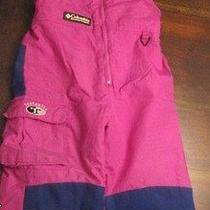 Columbia Girls Snow Overalls Photo