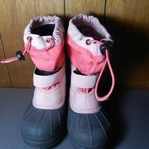 Columbia Girls Snow Winter Boots Sz 13 Photo