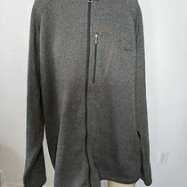 Columbia Gray Full Zip Up Sweater Jacket Mens Size Xxl Photo