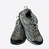 Columbia Gray Omni-Grip Hiking Trail Comfort Sneakers Shoes Techlite Sz 8.5 Photo
