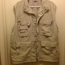 Columbia Grt 2xl Beige Euc Fishing Vest Photo