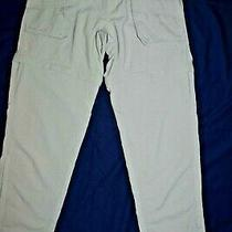Columbia Grt Womens Khaki Beige Convertible Zipoff Outdoor Hiking Pants Size M Photo
