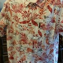 Columbia Hawaiian Fish Motiff Shirt Sz Xl Photo