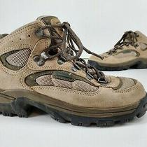 Columbia Hilltop Ridge Women's  Hiking Trail Boots Sz 7 Yl3018-075 Tan Brown Photo