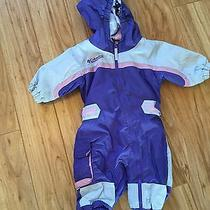 Columbia Infant Girls Purple Snowsuit Bunting Photo