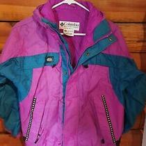 Columbia Interchange Coat Jacket Shell Only Tectonite Girls 10 /12 Photo