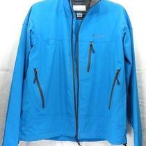 Columbia Interchange Men's Jacket Xl Blue Solid Photo