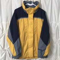 Columbia Interchange Yellow Lightweight Winter Weather Coat Womens Small Euc Photo