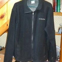 Columbia Jacket Black Omni Heat Interchange Thermal Comfort Mens Size Large Photo