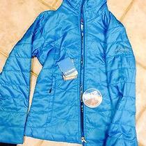 Columbia Jacket Small Omni-Heat Blue Photo