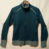 Columbia Jacket Women's Sz S Omni-Wick Full Zip Light Weight Thumb Holes Al6234 Photo