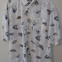 Columbia L Large Men's Fishing Vacation Shirt Photo