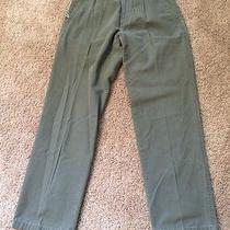 Columbia Ladies Size 10 Army Green Outdoor Pant Photo