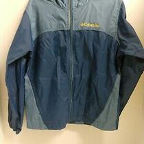 Columbia Lightweight Rain Jacket Wind Breaker - Boys - Small (8)  Photo